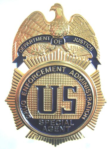 DRUG ENFORCEMENT ADMINISTRATION DEA BADGE SHIELD