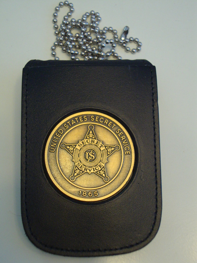 us secret service badge badgeholder neckchain police badge eu