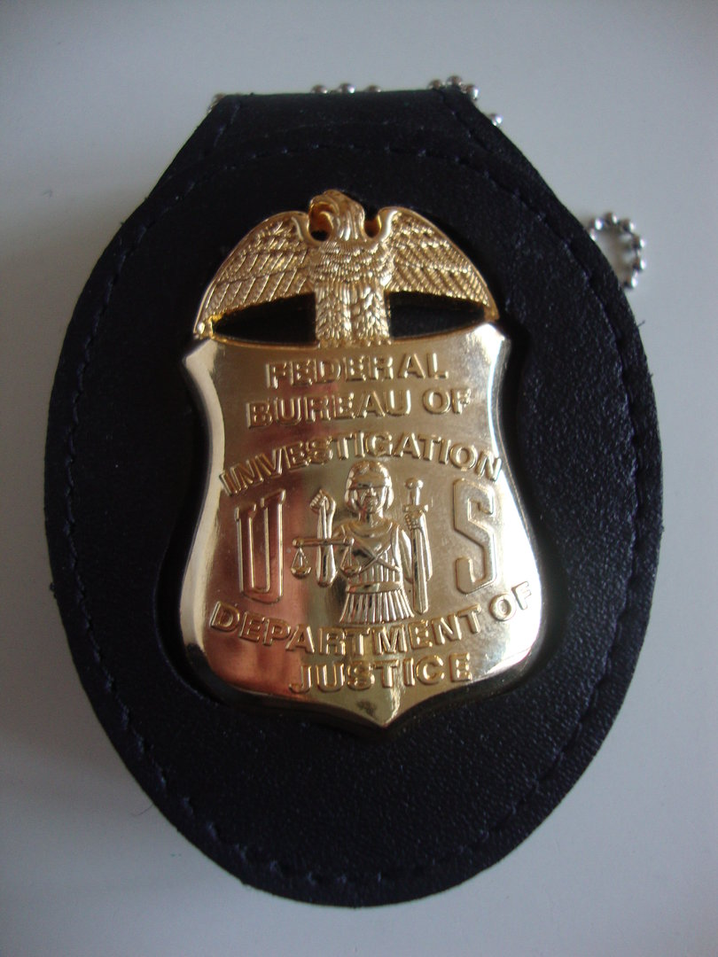 Fbi Badge Shield Amp Clip On Badgeholder Policebadge Eu