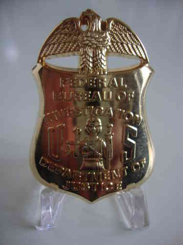 FEDERAL BUREAU OF INVESTIGATION FBI BADGE SHIELD