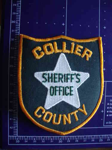 FLORIDA  COLLIER COUNTY SHERIFFS OFFICE PATCH