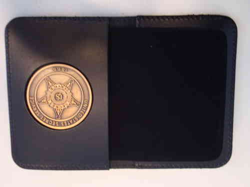 US SECRET SERVICE BADGE + BADGEHOLDER BOOKVORM