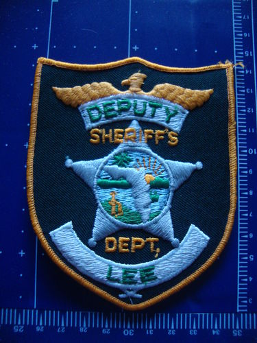 FLORIDA  LEE COUNTY SHERIFF PATCH