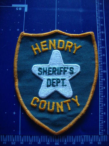 FLORIDA  HENDRY COUNTY SHERIFF PATCH