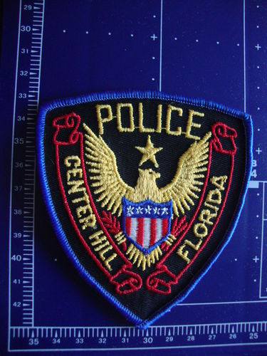 FLORIDA CENTER HILL POLICE PATCH