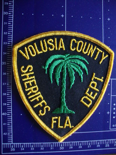 FLORIDA VOLUSIA COUNTY SHERIFF PATCH