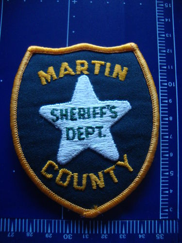 FLORIDA MARTIN COUNTY SHERIFF PATCH