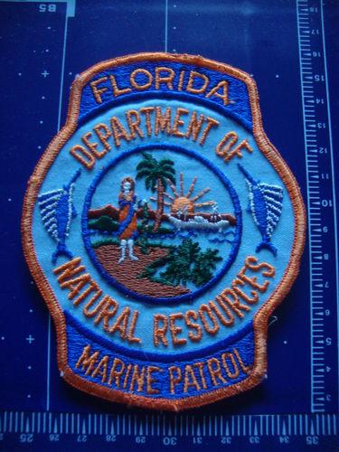FLORIDA DEPT. OF NATURAL RESOURSES POLICE PATCH