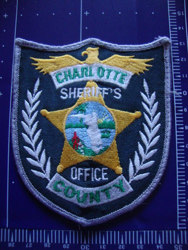 FLORIDA CHARLOTTE COUNTY SHERIFF PATCH