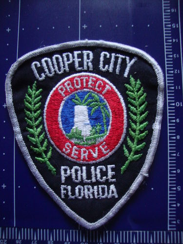 FLORIDA COOPER CITY POLICE PATCH