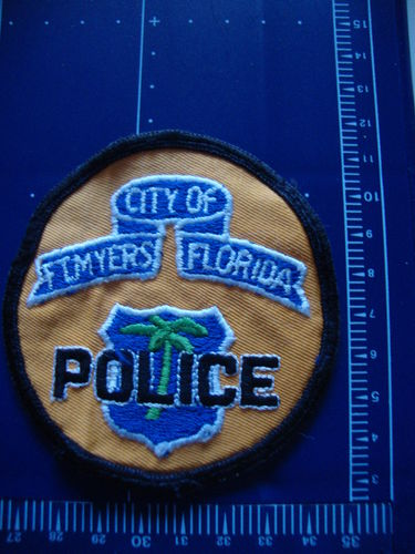 FLORIDA FT. MYERS POLICE PATCH