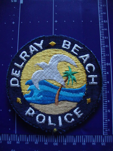 FLORIDA DELRAY BEACH POLICE PATCH