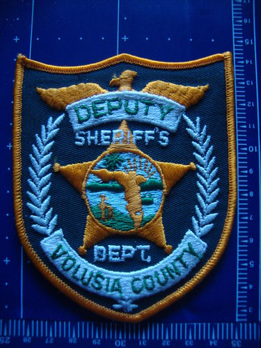 FLORIDA VOLUSIA COUNTY SHERIFF DEPT PATCH