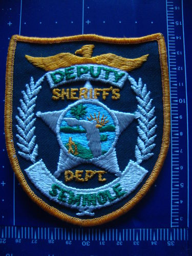FLORIDA SEMINOLE COUNTY SHERIFF PATCH