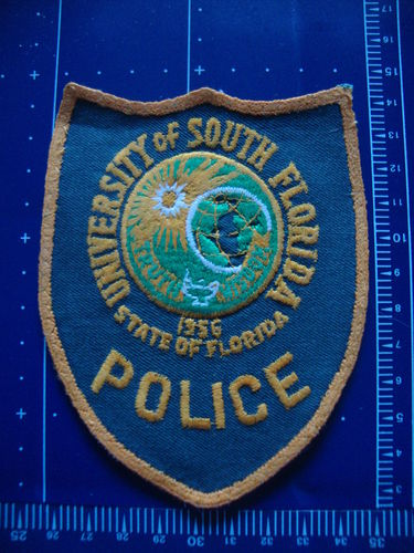 FLORIDA UNIVERSITY OF SOUTH POLICE PATCH