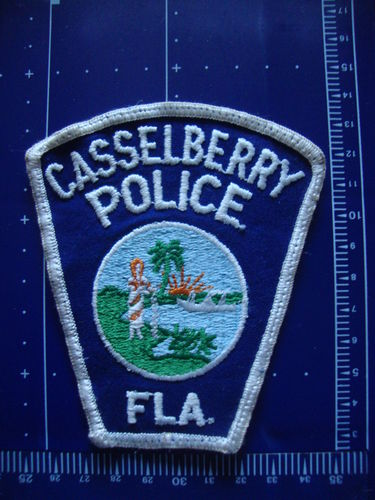 FLORIDA CASSELBERRY POLICE PATCH